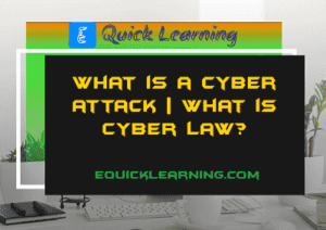 What is a Cyber Attack in Hinid? | What is Cyber Law?